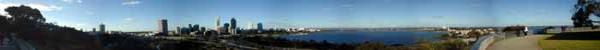 Perth panoramic view